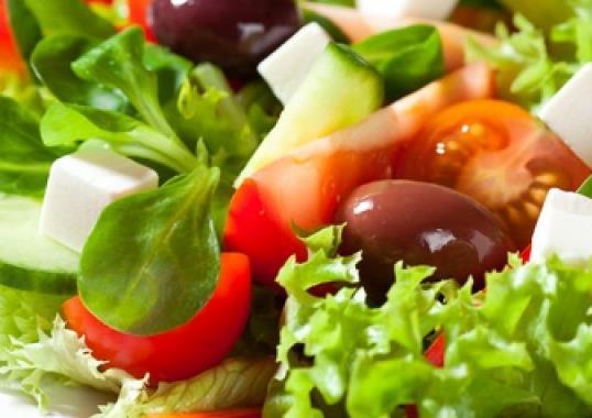 Salata dietetică de legume