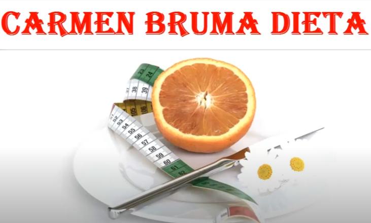 Dieta lui Carmen Bruma – Cum poti sa slabesti 4 kilograme in 6 zile